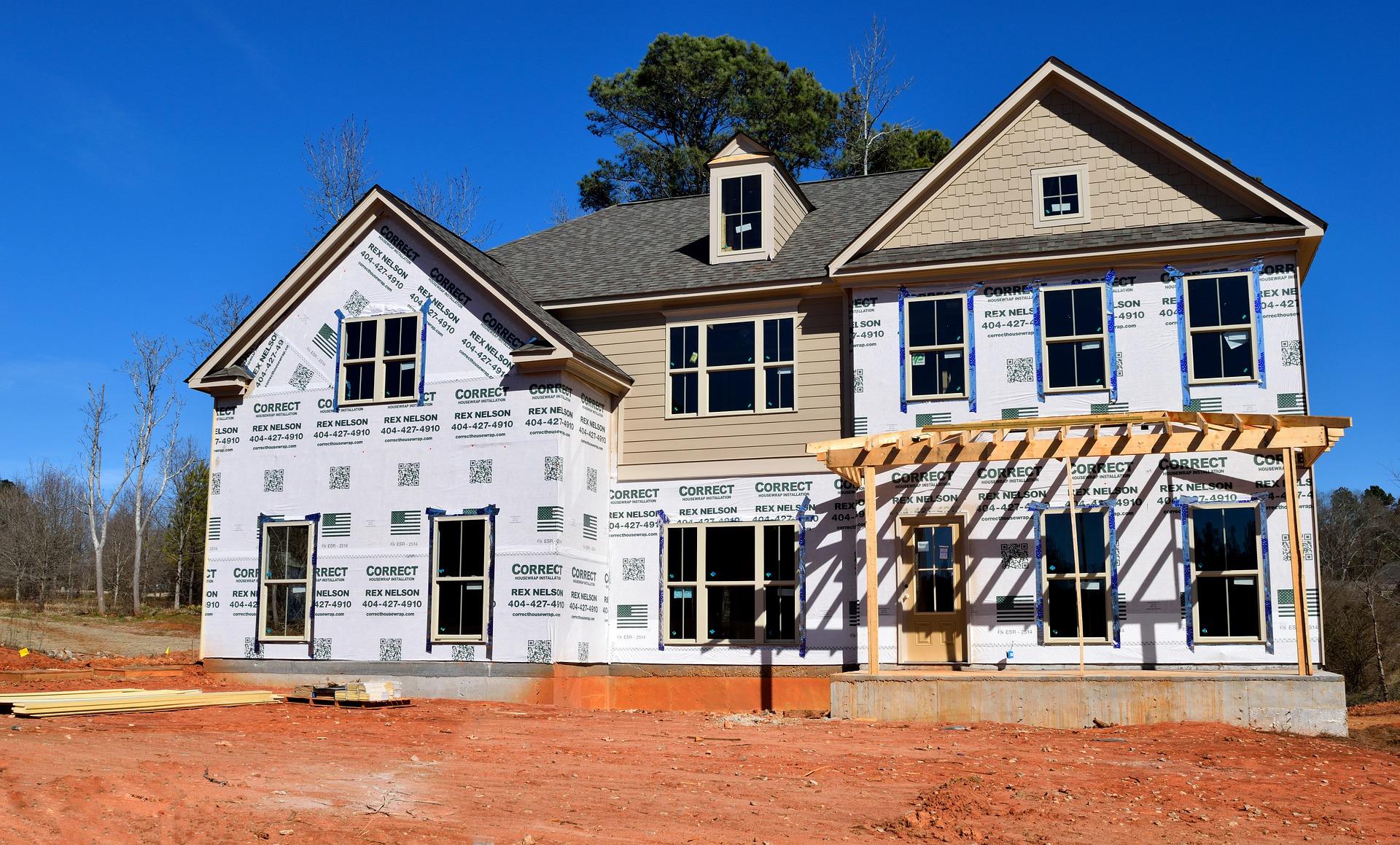 Travaux d'isolation pour la rénovation d'une maison